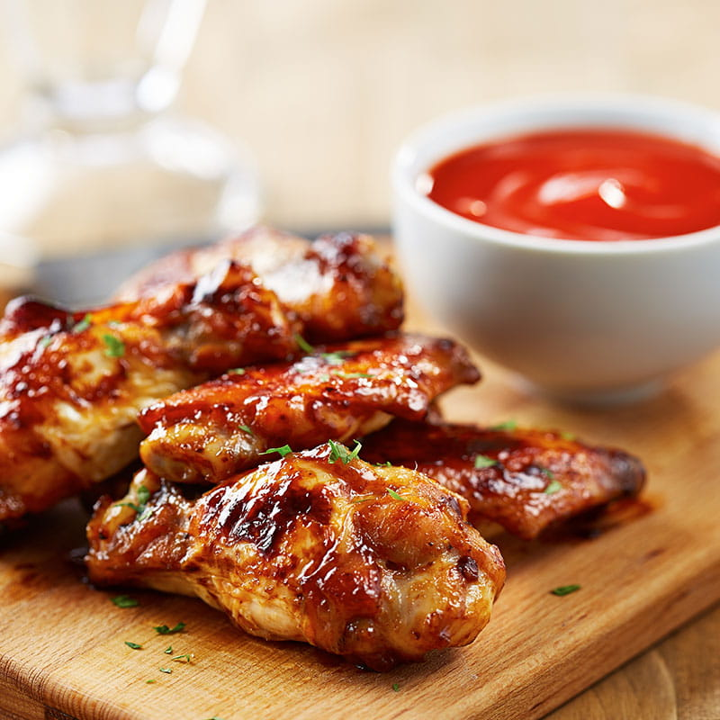 Juicy BBQ Chicken Wings